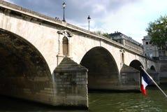 Ponte de Pont Marie, Paris. Imagem de Stock