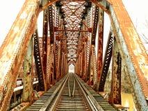 Ponte de 3 pontes sobre o rio de kentucky fotos de stock royalty free