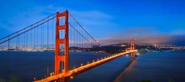 Ponte de porta dourada Imagem de Stock Royalty Free