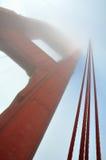 Ponte de porta dourada Imagens de Stock Royalty Free