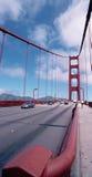 Ponte de porta dourada Foto de Stock Royalty Free