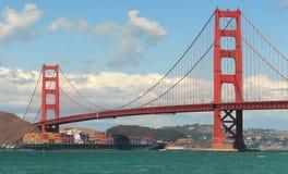 Ponte de porta dourada. Imagem de Stock Royalty Free
