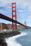 Ponte de porta dourada & ponto do forte, San Francisco Imagem de Stock Royalty Free