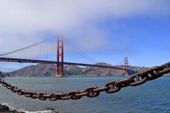 Ponte de porta dourada, Califórnia Fotografia de Stock