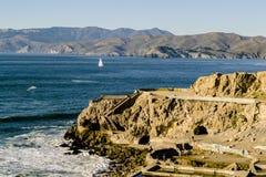 Ponte de porta dourada da praia do padeiro Fotos de Stock Royalty Free