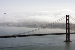 Ponte de porta dourada de San Francisco Foto de Stock