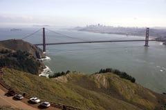 Ponte de porta dourada de San Francisco Fotografia de Stock Royalty Free
