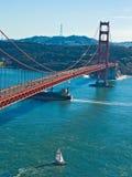Ponte de porta dourada de San Francisco Fotografia de Stock