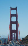 Ponte de porta dourada em San Francisco Imagem de Stock
