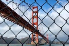 Ponte de porta dourada em San Francisco Imagem de Stock Royalty Free