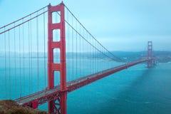 Ponte de porta dourada em San Francisco, Califórnia foto de stock royalty free