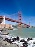 Ponte de porta dourada, San Franci fotografia de stock royalty free