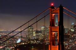 Ponte de porta dourada, San Franci Imagens de Stock