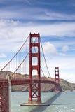 Ponte de porta dourada - San Francisco Foto de Stock