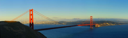 Ponte de porta dourada - San Francisco Fotos de Stock