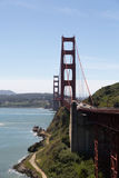 Ponte de porta dourada San Francisco Imagens de Stock