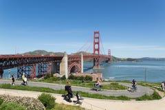 Ponte de porta dourada San Francisco Fotografia de Stock