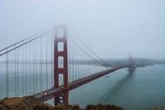 Ponte de porta dourada San Francisco Califórnia Imagem de Stock Royalty Free