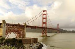 Ponte de porta dourada, San Francisco, Califórnia Fotos de Stock