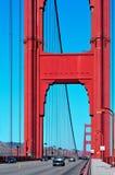 Ponte de porta dourada, San Francisco, Estados Unidos Imagens de Stock
