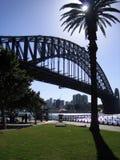 Ponte de porto de Sydney Imagens de Stock Royalty Free