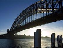 Ponte de porto de Sydney Imagens de Stock