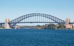 Ponte de porto de Sydney - porto imagem de stock