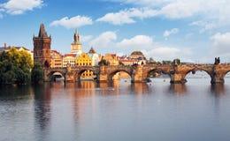Ponte de Praga - de Charles, República Checa fotos de stock