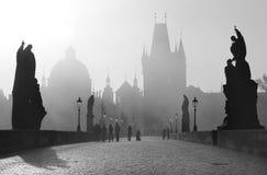 Ponte de Praga - de Charles fotos de stock
