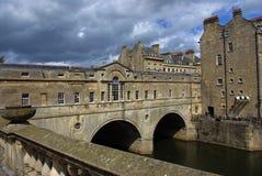 Ponte de Pulteney do banho Imagens de Stock