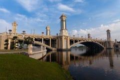 Ponte de Putrajaya Imagem de Stock Royalty Free