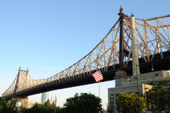 Ponte de Queensboro Imagem de Stock Royalty Free