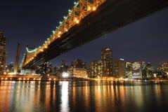 Ponte de Queensboro Fotos de Stock