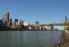 Ponte de Queensboro Foto de Stock Royalty Free