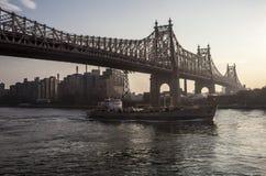 Ponte de Queensboro, Imagem de Stock