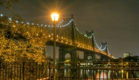 Ponte de Queensboro Imagens de Stock