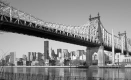 PONTE DE QUEENSBORO Fotografia de Stock Royalty Free