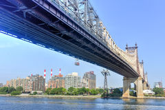 Ponte de Queensboro Foto de Stock Royalty Free