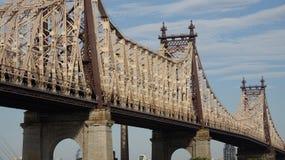 Ponte de Queensboro em Nyc imagens de stock royalty free