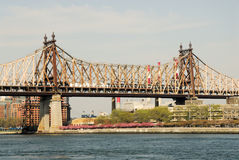Ponte de Queensboro, New York Foto de Stock Royalty Free