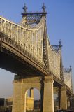 A ponte de Queensboro (59th rua) ao Queens Foto de Stock