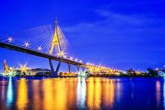 Ponte de Rama 9 imagens de stock