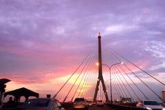 Ponte de Rama VIII Fotos de Stock