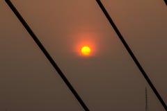 Ponte de Rama VIII Imagens de Stock