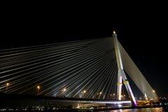 Ponte de Rama VIII Foto de Stock Royalty Free