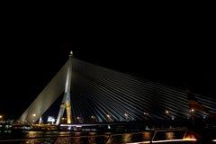 Ponte de Rama VIII Foto de Stock