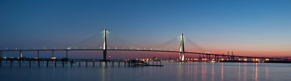 Ponte de Ravenel Fotos de Stock Royalty Free