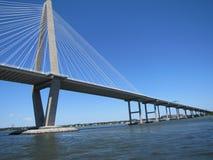 Ponte de Revenel em Charleston, SC imagens de stock