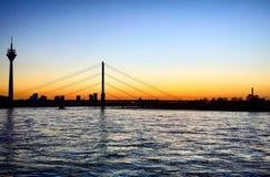 Ponte de Rhine River imagens de stock royalty free