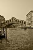 Ponte de Rialto na manhã Foto de Stock